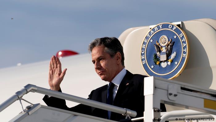 Deutschland US Außenminister besucht Berlin - Ankunft