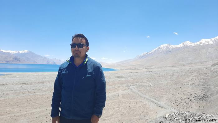 Konchok Stanzin, a local councilor in Chushul constituency, Ladakh