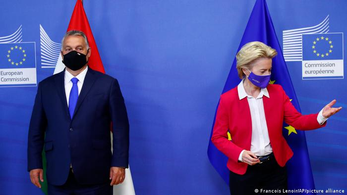 Viktor Orban i Ursula von der Leyen