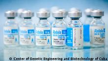 Impfstoff Abdala Copyright: Center of Genetic Engineering and Biotechnology in Havanna, Kuba.