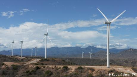 Dominikanische Republik Windparks Matafongo