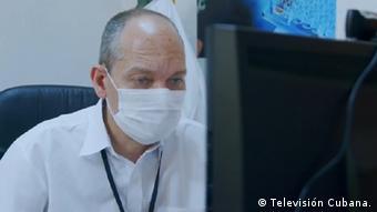 Screenshot Televisión Cubana | Gerardo Enrique Guillén Nieto