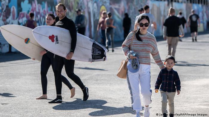 Australien Touristen in Sidney