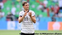Fussball International Europameisterschaft 2021: Portugal - Deutschland