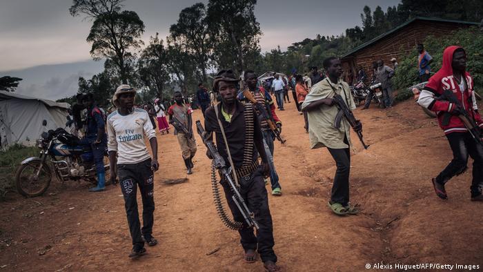 Milizsoldaten bewaffnete Gruppe URDPC/CODECO
