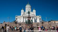 Catedral de Helsinki en Finlandia