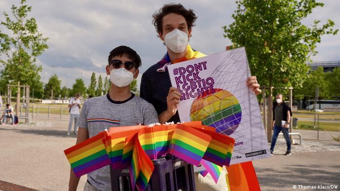 مخالفت با تبعیض علیه دگرباشان جنسی در مونیخ