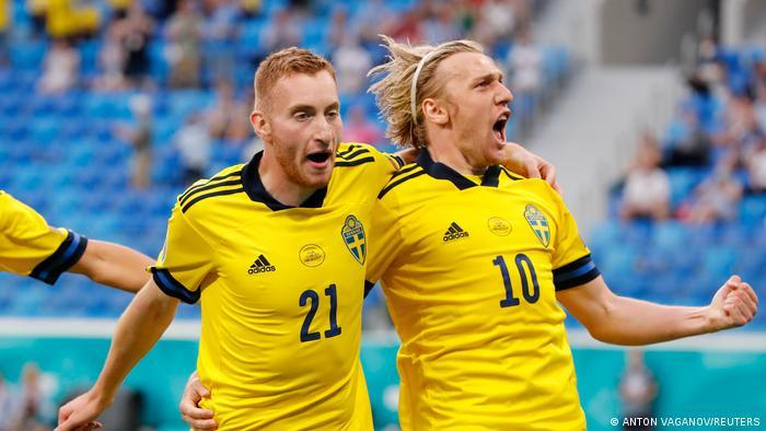 Fußball EM EURO 2021   Schweden vs Polen   Tor 2:0