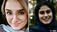 Iran Mahshad Karimi und Reyhaneh Yasini