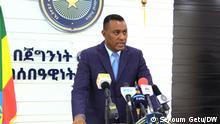 Äthiopien Kommissar Demmelash Gebremichael von der Bundespolizeikommission