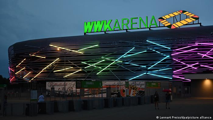 WWK Arena in southern Germany