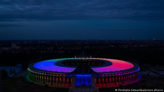 Berlin's Olympiastadion,