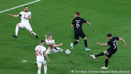 Fußball EM EURO 2021 | Deutschland v Ungarn Tor Goretzka