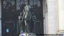 Statue von Theodore Roosevelt in NYC USA