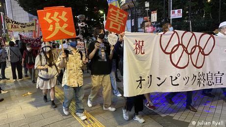 Tokyo Olympics: A month to go, protesters intent on postponing games