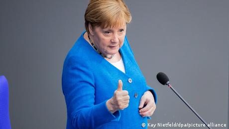 Τελευταία ομιλία της Μέρκελ στη γερμανική βουλή