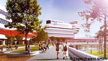Berlin Tegel Project Terminal B, A rendering of the Tegel Project's plan of Terminal B.
