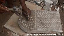 Traditional stone grinders, popularly known as Sheel-Pata, can be bought from Keraniganj near Dhaka, Bangladesh. Copyright: bdnews24.com
