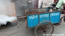 Fumigation to prevent dengue is going on besides covid protection in urban area. Anti dengue day is observed in rural area also. Where it was take: West Bengal Fumigation process to prevent dengue