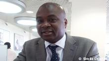 Titel: Paulo Dinis Luvambano, ehemaliger stellvertretender Gouverneur von Cabinda. Ort: Angola Fotograf: Simão Lelo/DW Datum: 24.06.2021 Schlagworte: Paulo Dinis Luvambano, Cabinda, Angola, Gouverneur