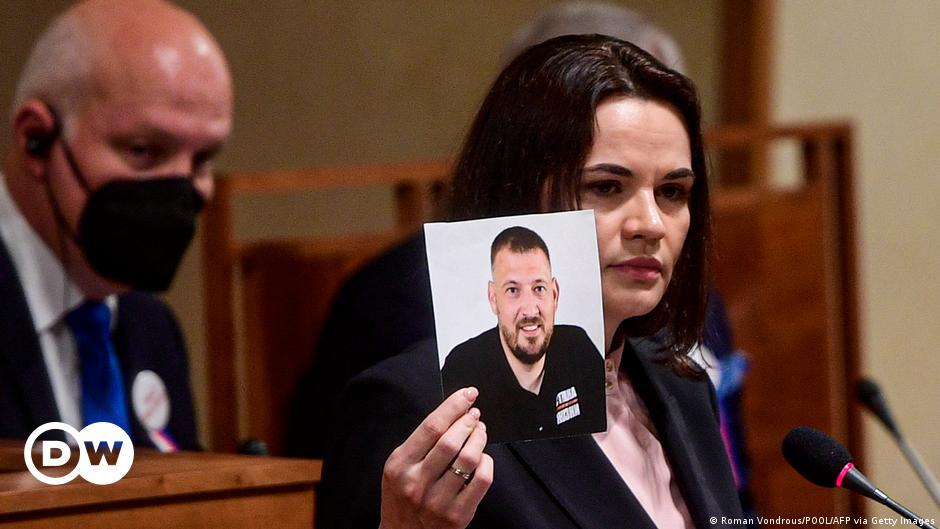 Belarus: Trial begins for jailed husband of exiled opposition leader
