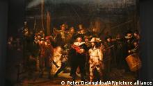 Niederlande Rekonstruktion von Rembrandts «Nachtwache»