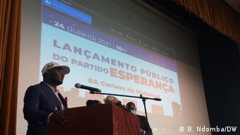 Mfuca Muzemba / neue Partei Esperança / Angola