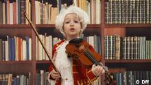Juni 2021, Arabella Duffy mit Geige