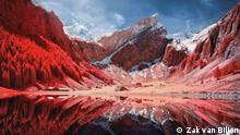 Juni 2021, Schweiz Infrarotfotografie von den Alpen