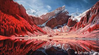 Schweiz Infrarotfotografie von den Alpen