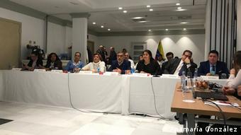 Diputados venezolanos, elegidos en 2015, trabajan desde el exilio.