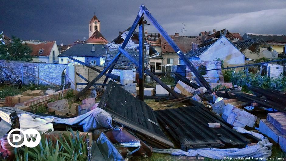 Tote nach Tornado in Tschechien