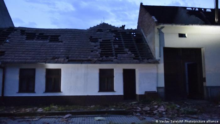 Tschechien | Unwetter Hagelsturm Tornado