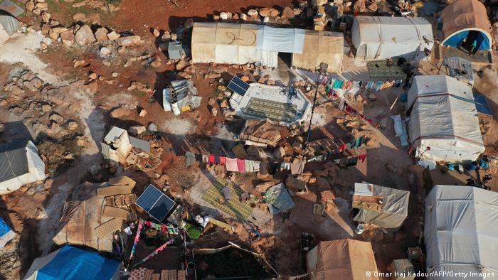 Syrien Krieg Flüchtlingslager Killi Grenzübergang Bab Al Hawa