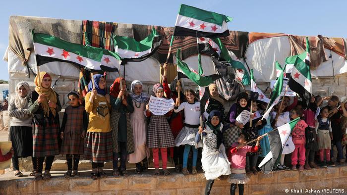 Syrien Schließung Grenzübergang Bab Al Hawa Protest