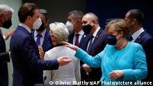 EU Gipfel Deutschland Österreich Merkel Kurz