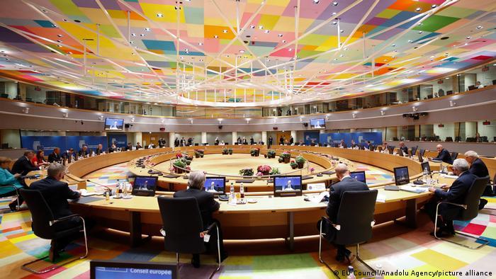 Belgien Brüssel | EU-Gipfel, Sitzungssaal