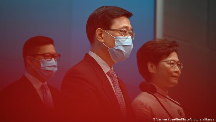 Hong Kong   PK zur Kabinettsumbildung