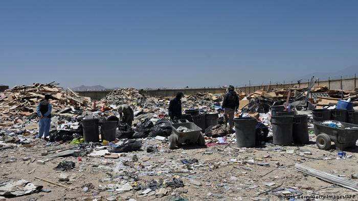 US-Müllberge in Bagram