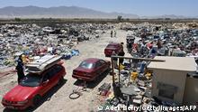 चले गए अमेरिकी, छोड़ गए कचरा