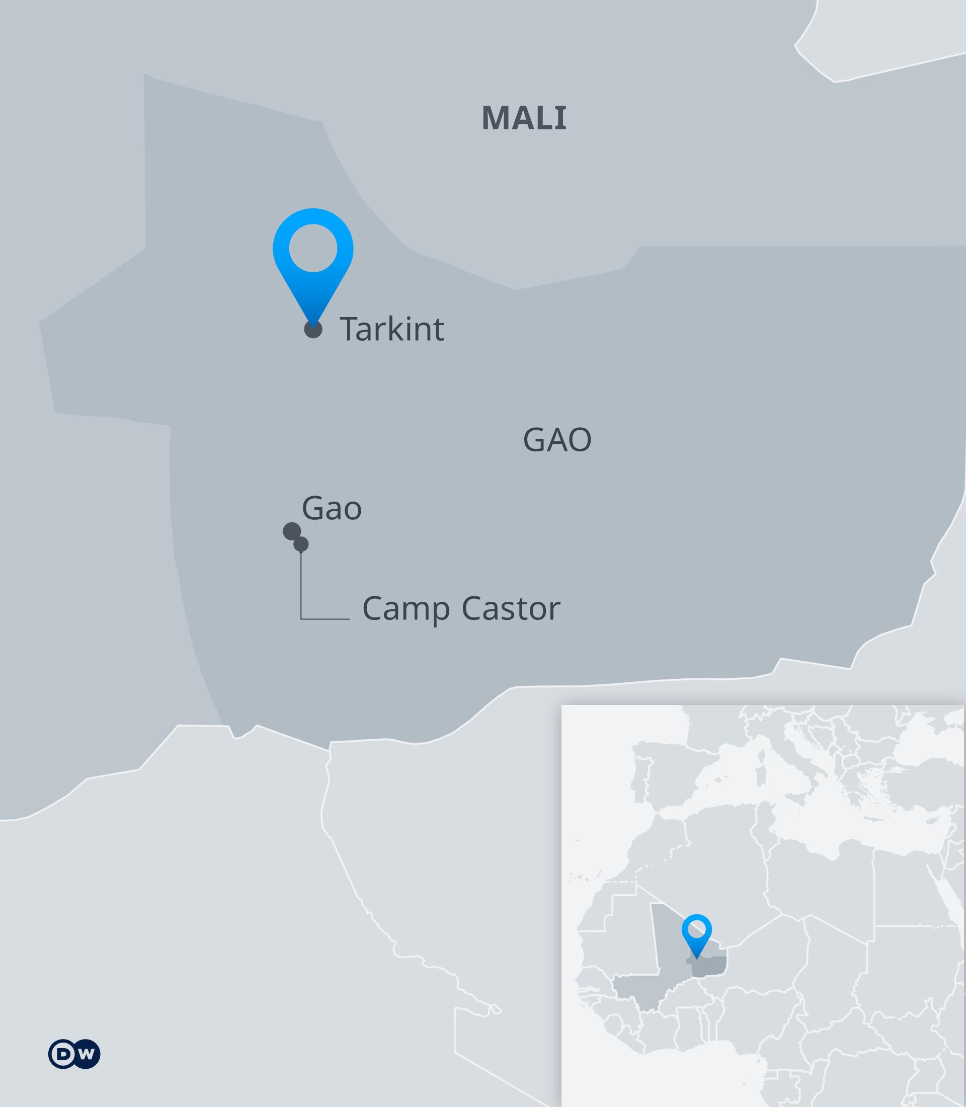 Karte Mali Tarkint