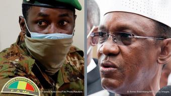 Kombibild Mali Präsident Assimi Goita und Choguel Maiga
