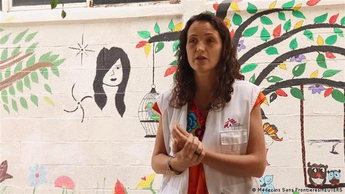 Äthiopien Tigray Notfallkoordinatorin von Ärzte ohne Grenzen (MSF) Maria Hernandez