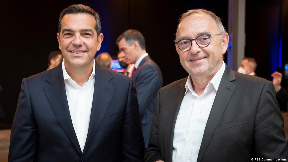 Berlin Alexis Tsipras und Norbert Walter-Borjans
