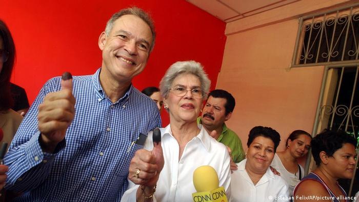 Nicaragua Managua | Violeta Barrios de Chamorro und Pedro Joaquin Chamorro Barrios