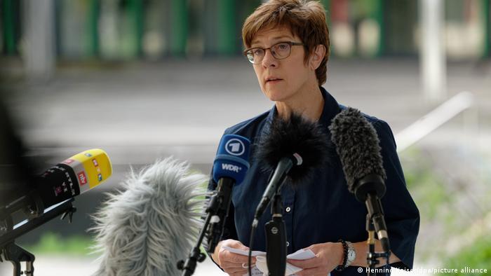 Annegret Kramp-Karrenbauer in Bonn zu Anschlag in Mali