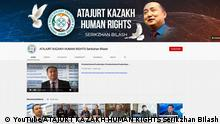 YouTube Screenshot | Atajurt Kazakh Human Rights Atajurt Kazakh Human Rights' channel has published nearly 11,000 videos on YouTube totaling over 120 million views since 2013, thousands of which feature people speaking to camera about relatives they say have disappeared without a trace in China's Xinjiang region. The channel is moving its videos to little-known service Odysee after some were taken down by YouTube, two sources told Reuters.