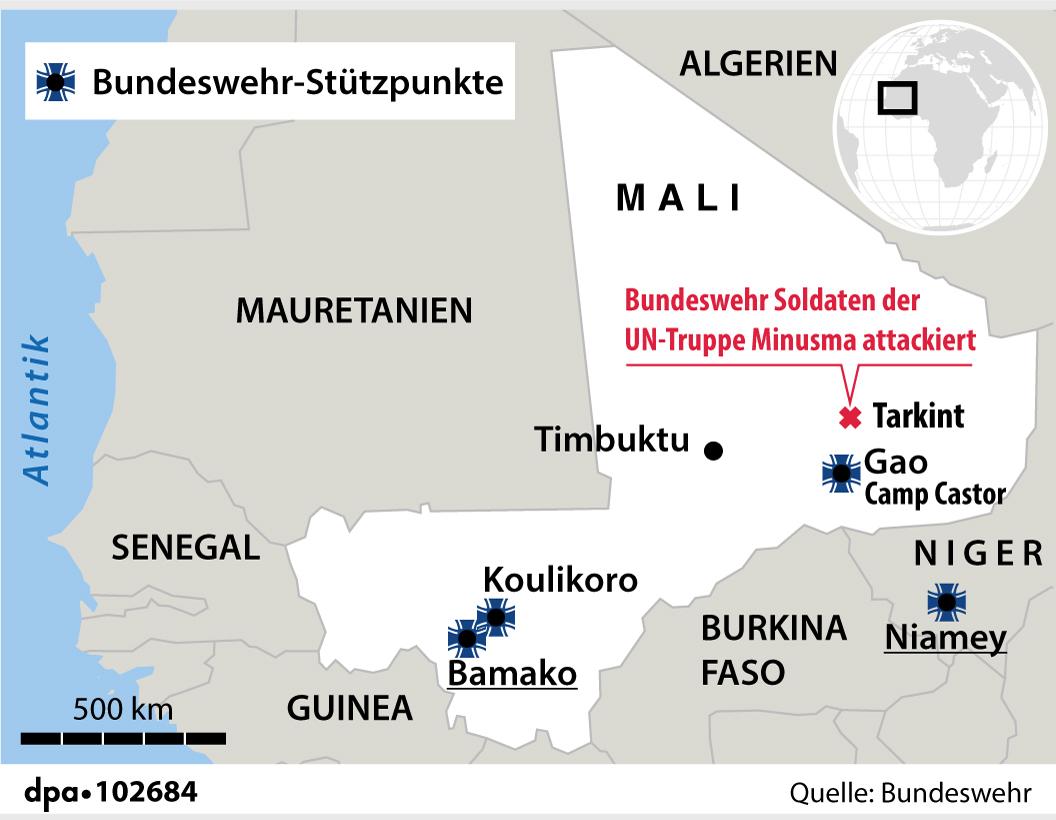 Anschlag auf Bundeswehr in Mali am 25.06.2021