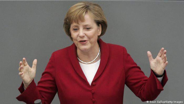 Deutschland | Angela Merkel Rede Bundestag März 2006