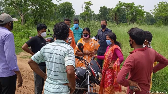 Westbengalen l Nirmala Dhar, Politikerin und MLA von Indus, Bankura
